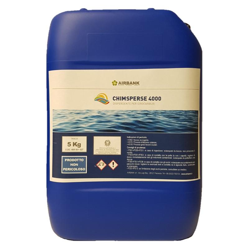 CLEANING ECO DISPERDENTE PER IDROCARBURI TANICA 10 KG CHIMSPERSE 4000