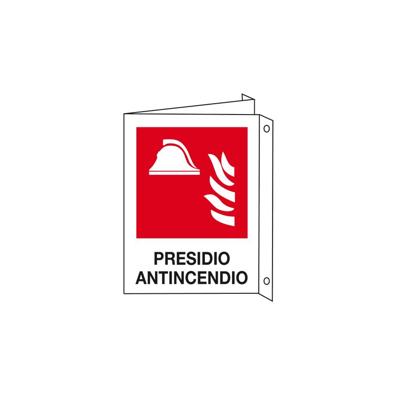 PRESIDIO ANTINCENDIO CARTELLO ALLUMINIO 150X175 BIF