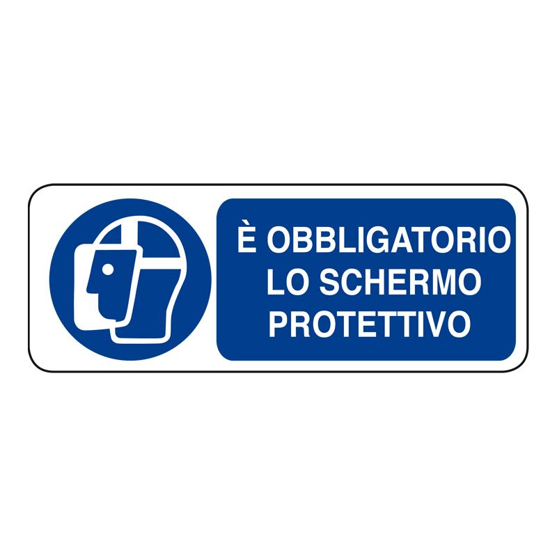È OBBLIGATORIO LO SCHERMO PROTETTIVO ADESIVO 330X125 OBBLIGO